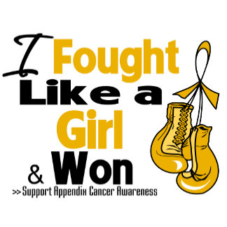Appendix Cancer I Fought Like a Girl and Won