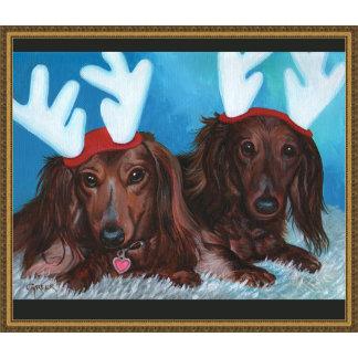 DACHSHUND Doxie CHRISTMAS