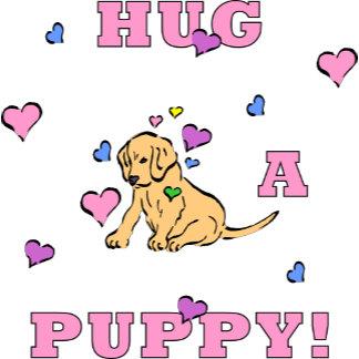 Hug A Puppy