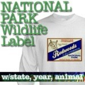 Wildlife Label National Park T-Shirts