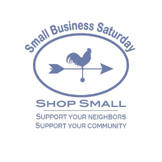 Small Business Saturday - Weathervane in blue