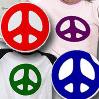 Peace Signs of Every Color