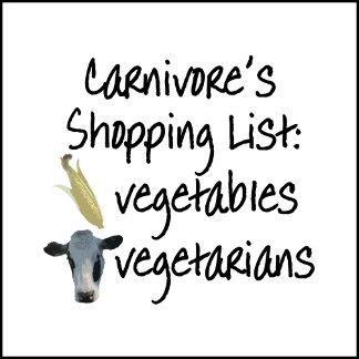 Carnivore Shopping List