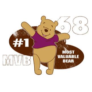 Winnie the Pooh Most Valuable Bear Logo