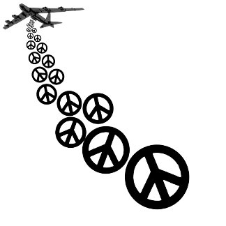 Peace T shirts for peace loving pacifists