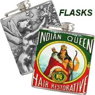 FLASKS - Hipster Hip Whiskey Nips