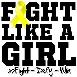 Bladder Cancer Sporty Fight Like a Girl