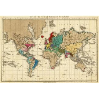Empire of Napoleon Bonaparte 1811 AD