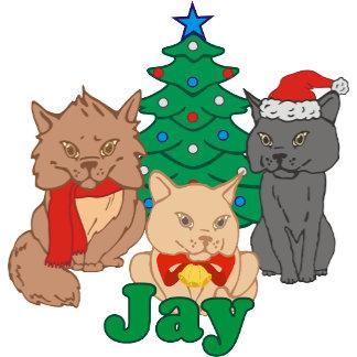Christmas Cats Jay