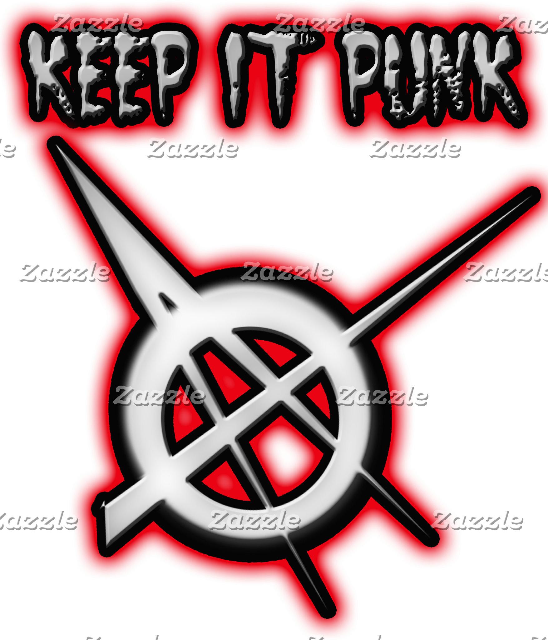 KEEP IT PUNK Punk Rock Music shirts