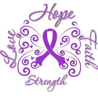 Epilepsy Hope Motto Butterfly