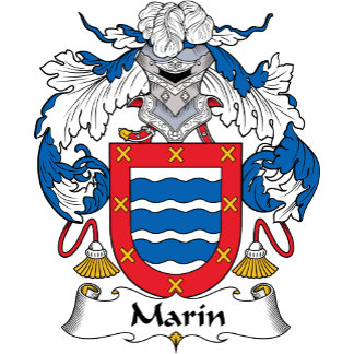 Marin Family Crest