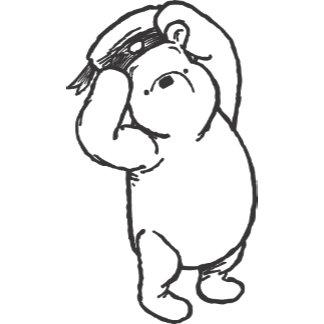 Sketch Winnie the Pooh 1