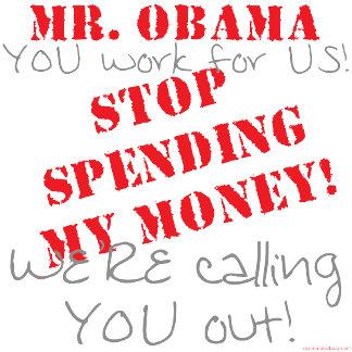 Stop Spending - Obama