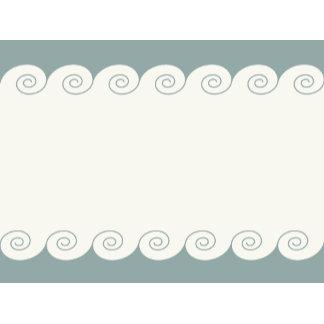 Grecian Spiral Waves