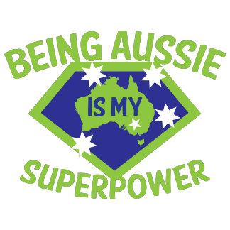 Being Aussie is my superpower