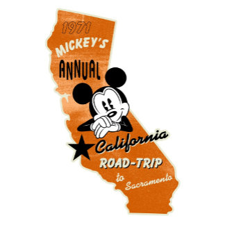 Mickey Mouse Road Trip in Sacramento