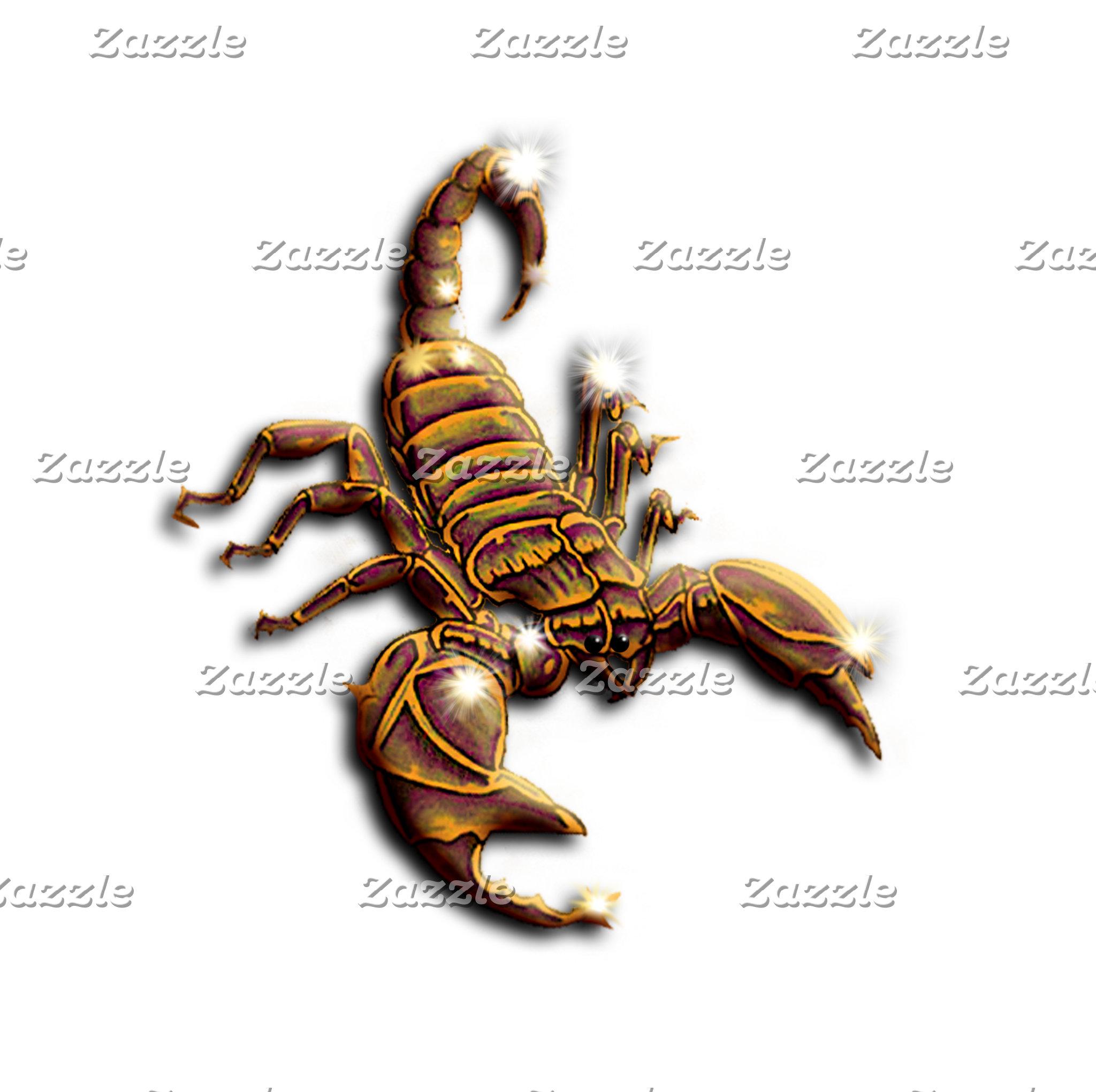 VENOMOUS ANIMALS, SCORPIONS, SPIDERS