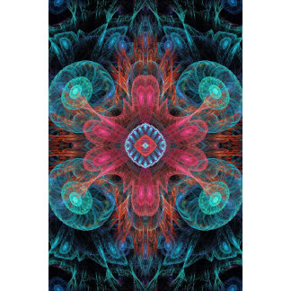 Abstract Electric Jellyfish Cool Fractal
