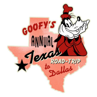 Mickey And Friends Goofy Road Trip to Dallas