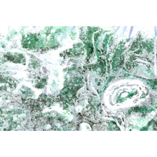 abstract rock pattern green swirls