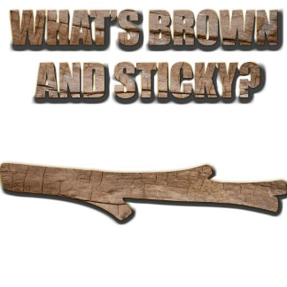 What's Brown and Sticky Joke
