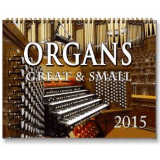 2015 Organ calendars