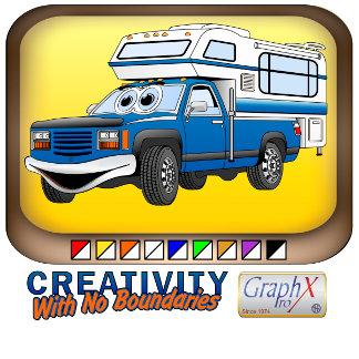 Pick Up Camper Cartoons