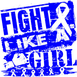 Colon Cancer BurnOut Fight Like a Girl