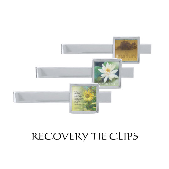 Recovery Tie Clips