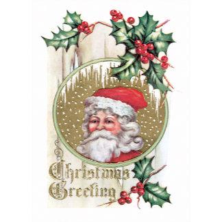 Christmas Greeting ~ Santa Claus