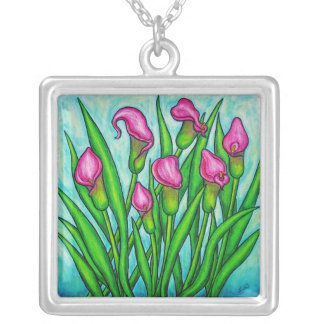 Funky Floral Necklaces & Gift Boxes