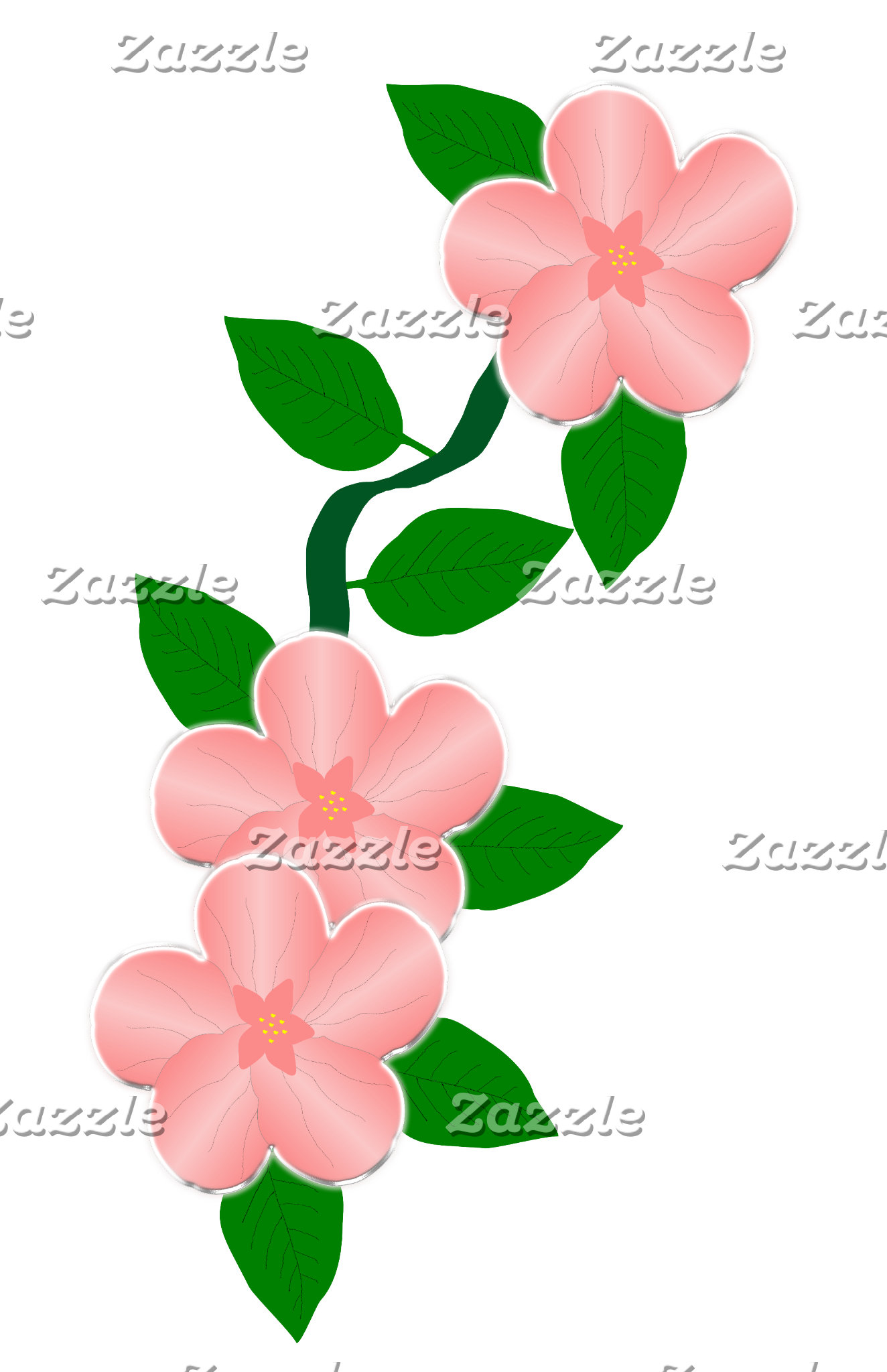 Pink Flowers Collection