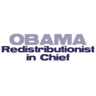 Redistributionist in chief stickers, tees and more