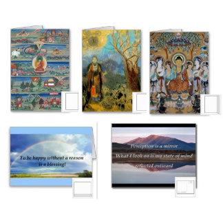 Buddha Cards & Postage