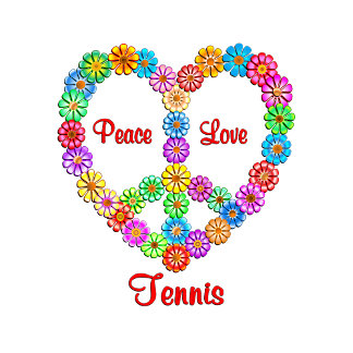 Tennis Peace Love