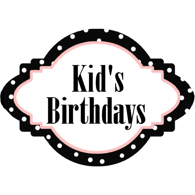 7. KIDS BIRTHDAY -  Apparel - Favors - Gifts