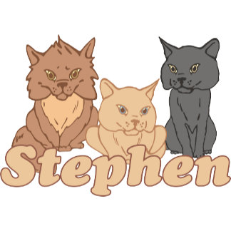 Personalized Stephen Cat Lover