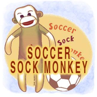 Soccer Sock Monkey