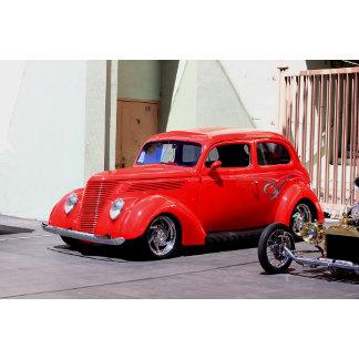 Classic Red Car 7