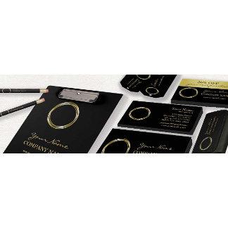 BLACK & GOLDEN RINGS