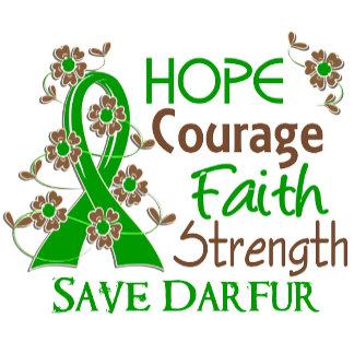 Hope Courage Faith Strength 3 Save Darfur