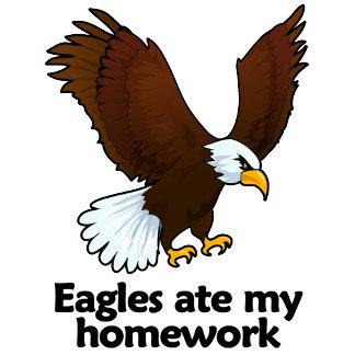 Eagles ate my homework