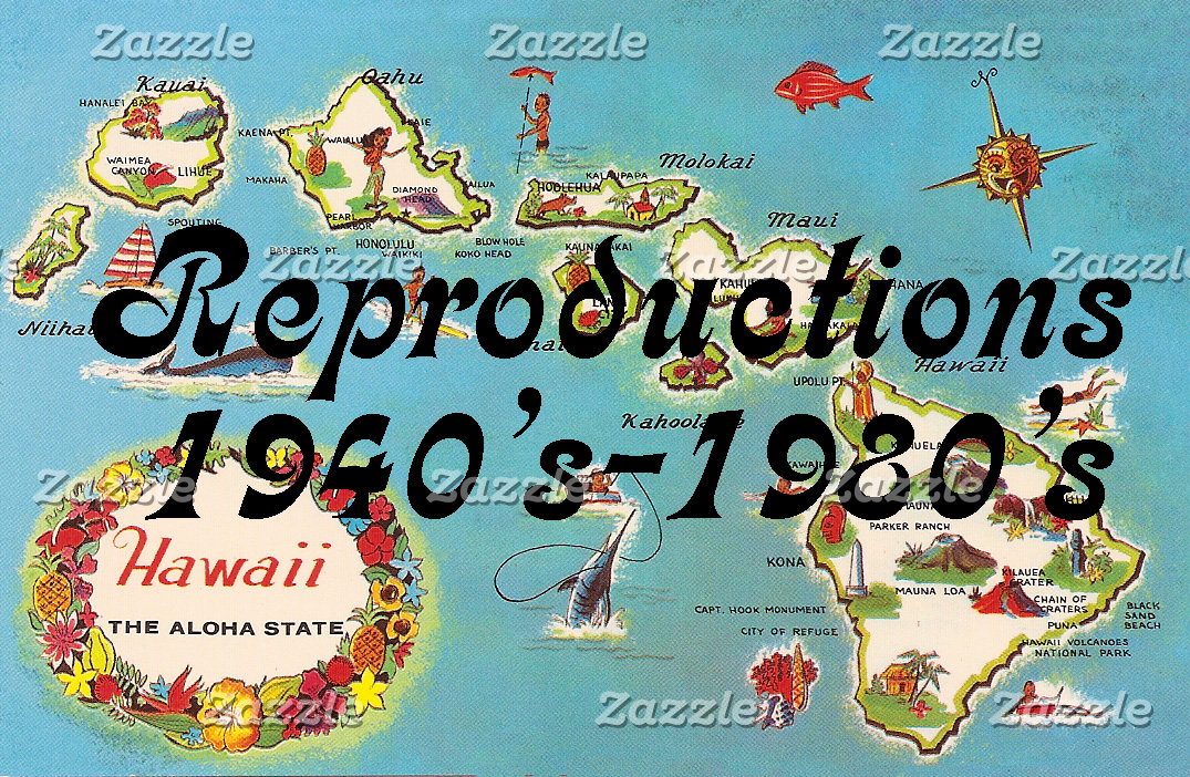 Reproductions 1940's-1980's