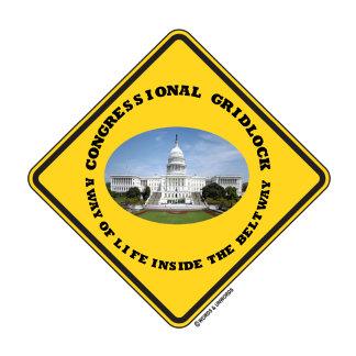 Congressional Gridlock Way Of Life Inside Beltway