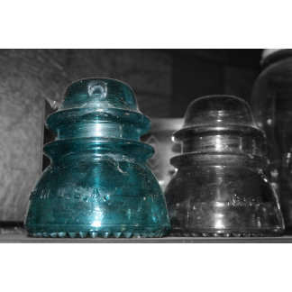 Blue Insulator part colored
