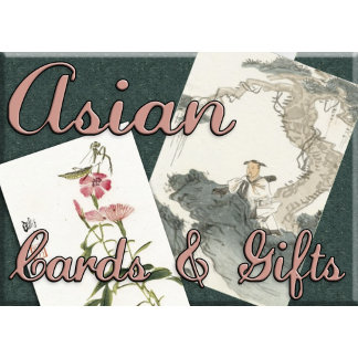 ASIAN Inspired gifts, cards and more