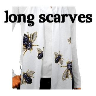 Scarves ~ Long Scarf Muffler Wrap