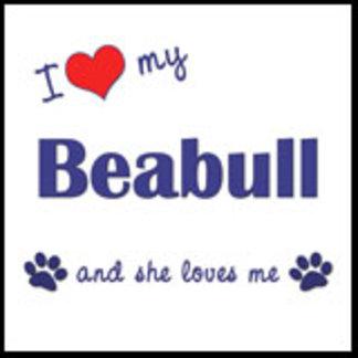 I Love My Beabull (Female Dog)