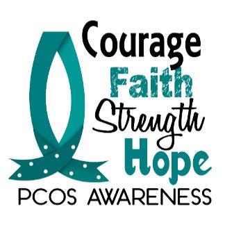 Courage Faith Strength Hope PCOS